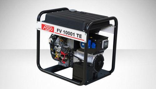 Fogo FV 10001 TE Agregat prądotwórczy jednofazowy 230V, moc max - 9,5 kW - elektryczny rozrusznik, powiększony zbiornik paliwa