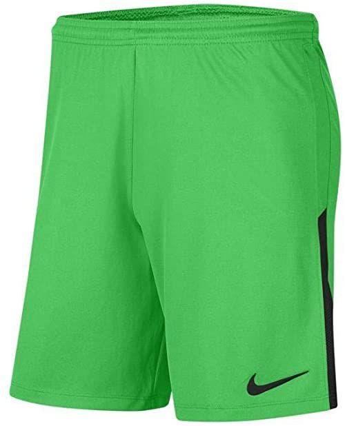 Nike Męskie szorty League Knit II Short NB, green spark/czarny/czarny, S