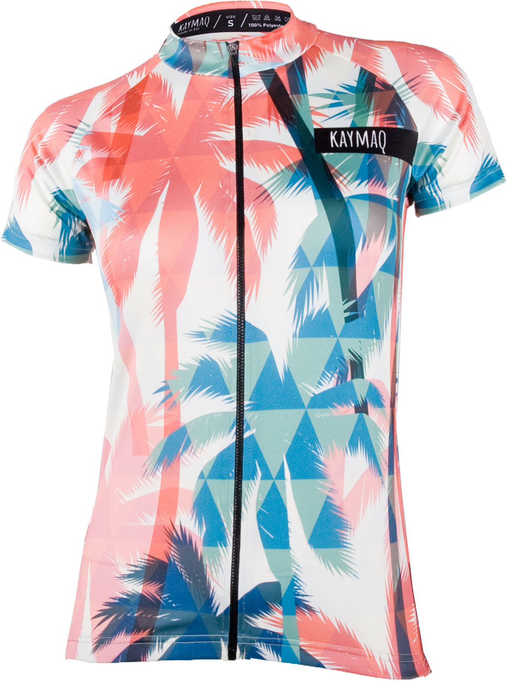KAYMAQ W1-W05 Damska koszulka rowerowa z krótkim rękawem Rozmiar: L,kaymaqw1-w05