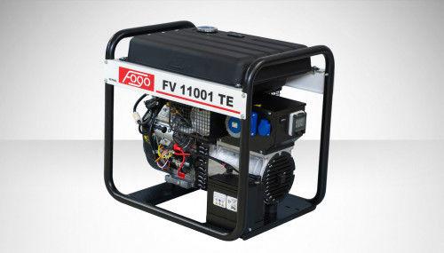 Fogo FV 11001 TE Agregat prądotwórczy jednofazowy 230V, moc max - 11,0 kW - elektryczny rozrusznik, powiększony zbiornik paliwa