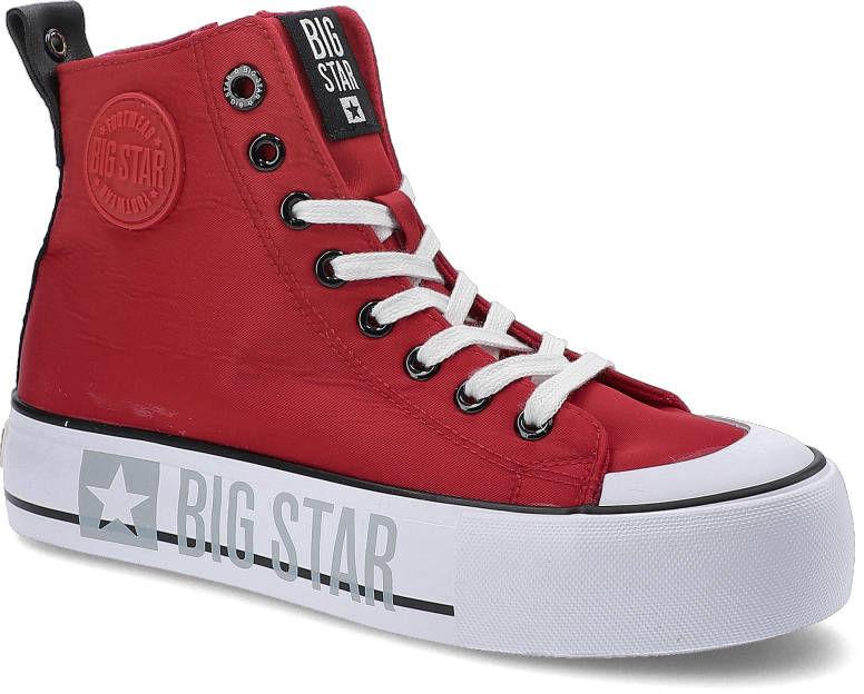Sneakersy BIG STAR II274018 Czerwony