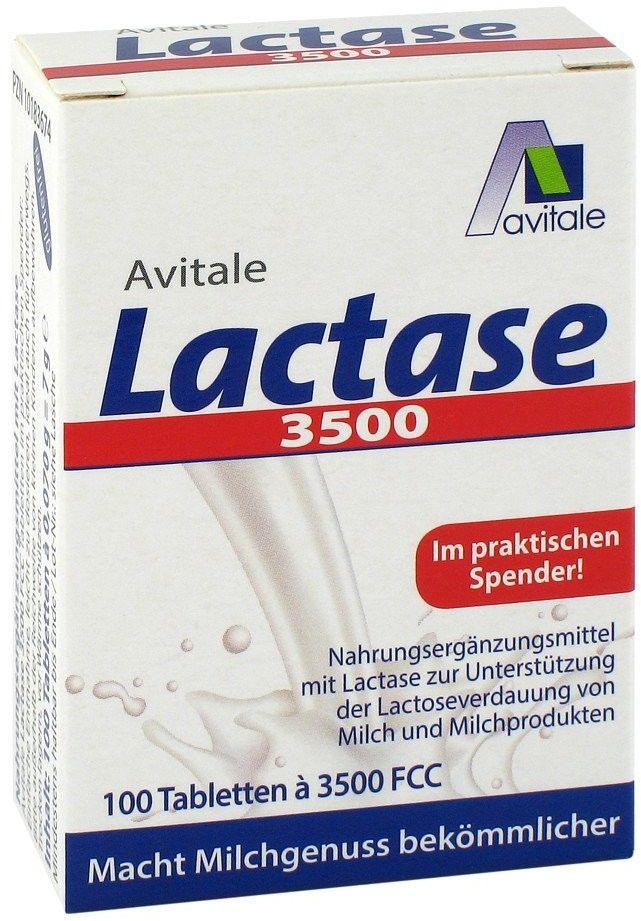 Lactase 3500 FCC tabletki