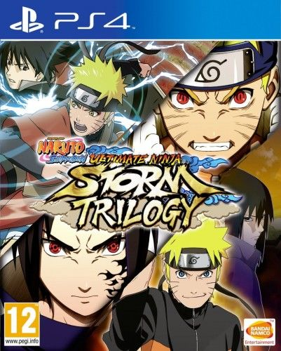 Naruto Shippuden:Ultimate Ninja Storm Trilogy PS 4