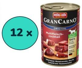Pakiet Animonda GranCarno Original Koktajl mięsny 12 x 400 g