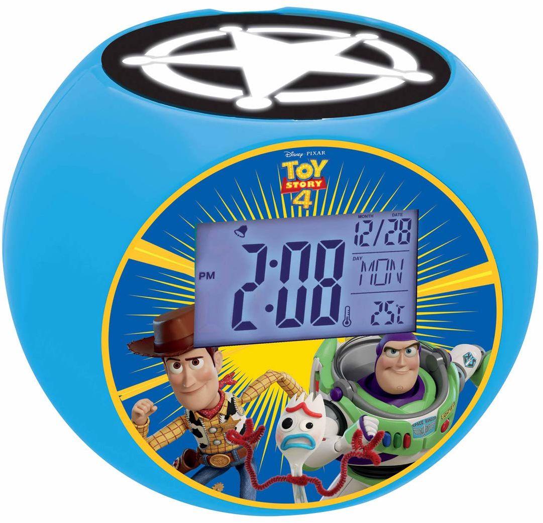 Lexibook Disney Toy Story Woody & Buzz radiobudzik, efekty dźwiękowe, baterie, niebieski, RL975TS