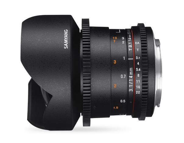 Samyang 14mm T3.1 VDSLR ED AS IF UMC II - obiektyw stałoogniskowy, Nikon F