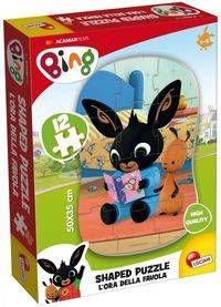 Bing Moje pierwsze puzzle 2 - Lisciani
