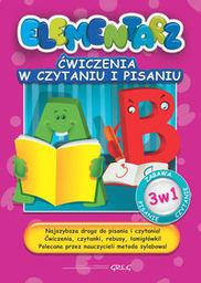 Elementarz. Ćwiczenia w czytaniu i pisaniu ZAKŁADKA DO KSIĄŻEK GRATIS DO KAŻDEGO ZAMÓWIENIA