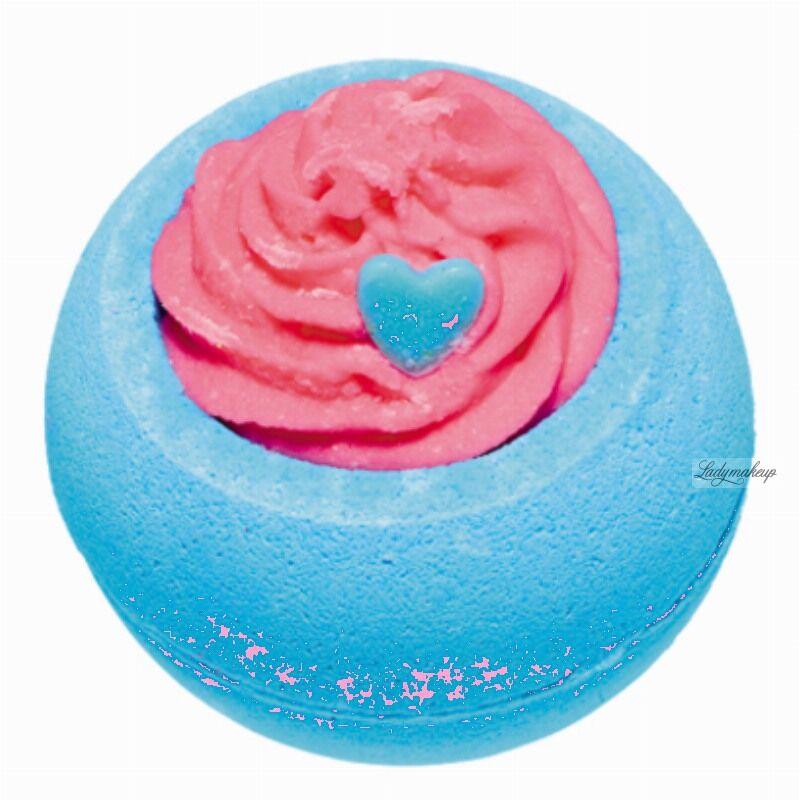 Bomb Cosmetics - Blueberry Funday - Musująca kula do kąpieli - JAGODOWA