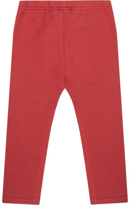 Legginsy 44121711 Czerwony Slim Fit