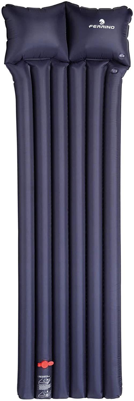 Ferrino Materac dmuchany ''6 Tube z poduszką, niebieski, jeden rozmiar