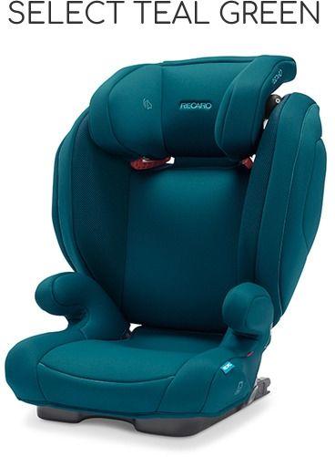 Recaro Monza Nova 2 Seatfix (15-36 kg) - Select Teal Green