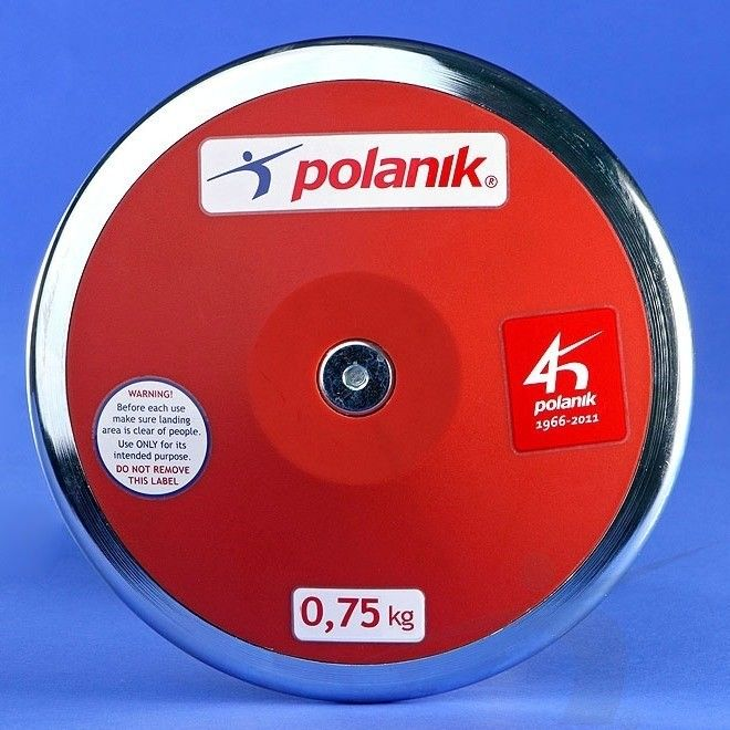 Dysk treningowy Polanik plastikowy 750 g