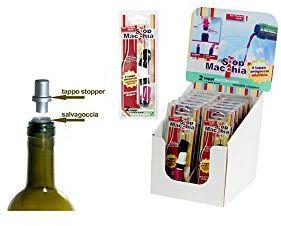 H & H 5852500 opakowanie 2 korków stopmacchia z 2 odpowiednimi kolorami, fałszywe, wielokolorowe, 21 x 8 x 3 cm