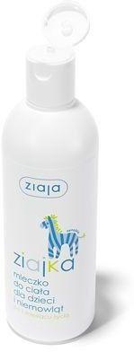 Ziaja Ziajka mleczko do ciała dla dzieci i niemowląt 300ml