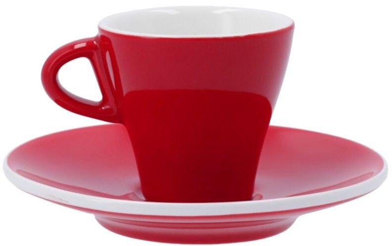 Filiżanka do espresso Club House Gardenia 65 ml - Czerwona