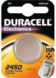 Bateria litowa mini Duracell CR2450