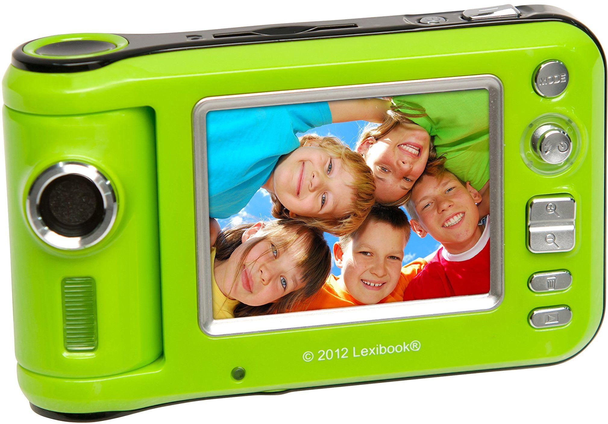 Lexibook Aparat o rozdzielczości 12 megapikseli, z obrotowym błyskiem i obiektywem z ekranem LCD 2,4 cala