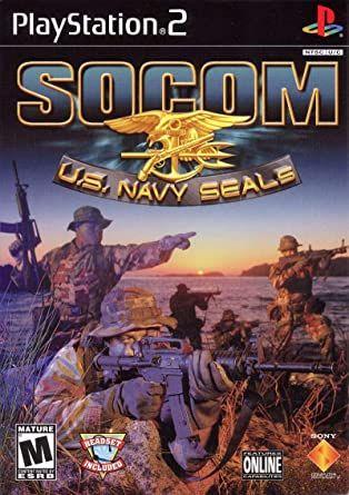 Socom US Navy Seals PS 2 Używana