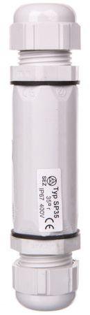 Złączka kablowa 35mm2 IP67 z dławikiem 6,4-12mm SP SP 35 35-25-16 39.35
