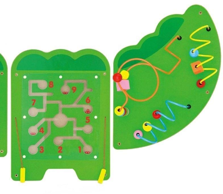 Viga 50346 Sensoryczna tablica manipulacyjna - krokodyl xl
