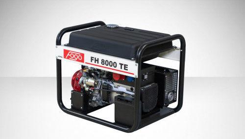 Fogo FH 8000 TE Agregat prądotwórczy trójfazowy 400V/230V - elektryczny rozrusznik, powiększony zbiornik paliwa