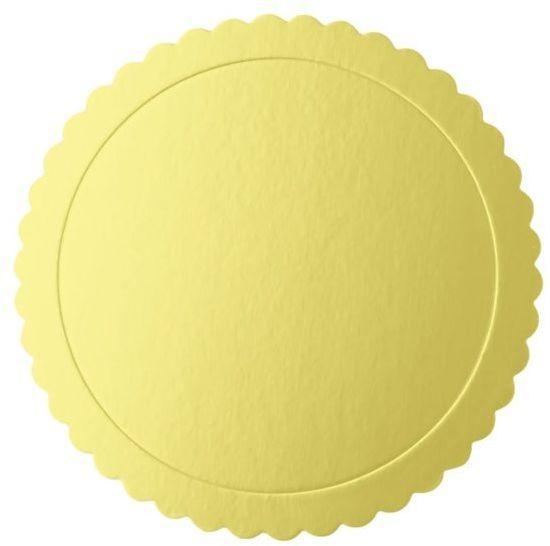 Podkład pod tort 20cm okrągły złoty 1 sztuka 511440