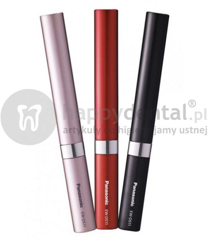 PANASONIC EW DS90 turystyczna, soniczna szczoteczka bateryjna do zębów w trzech kolorach