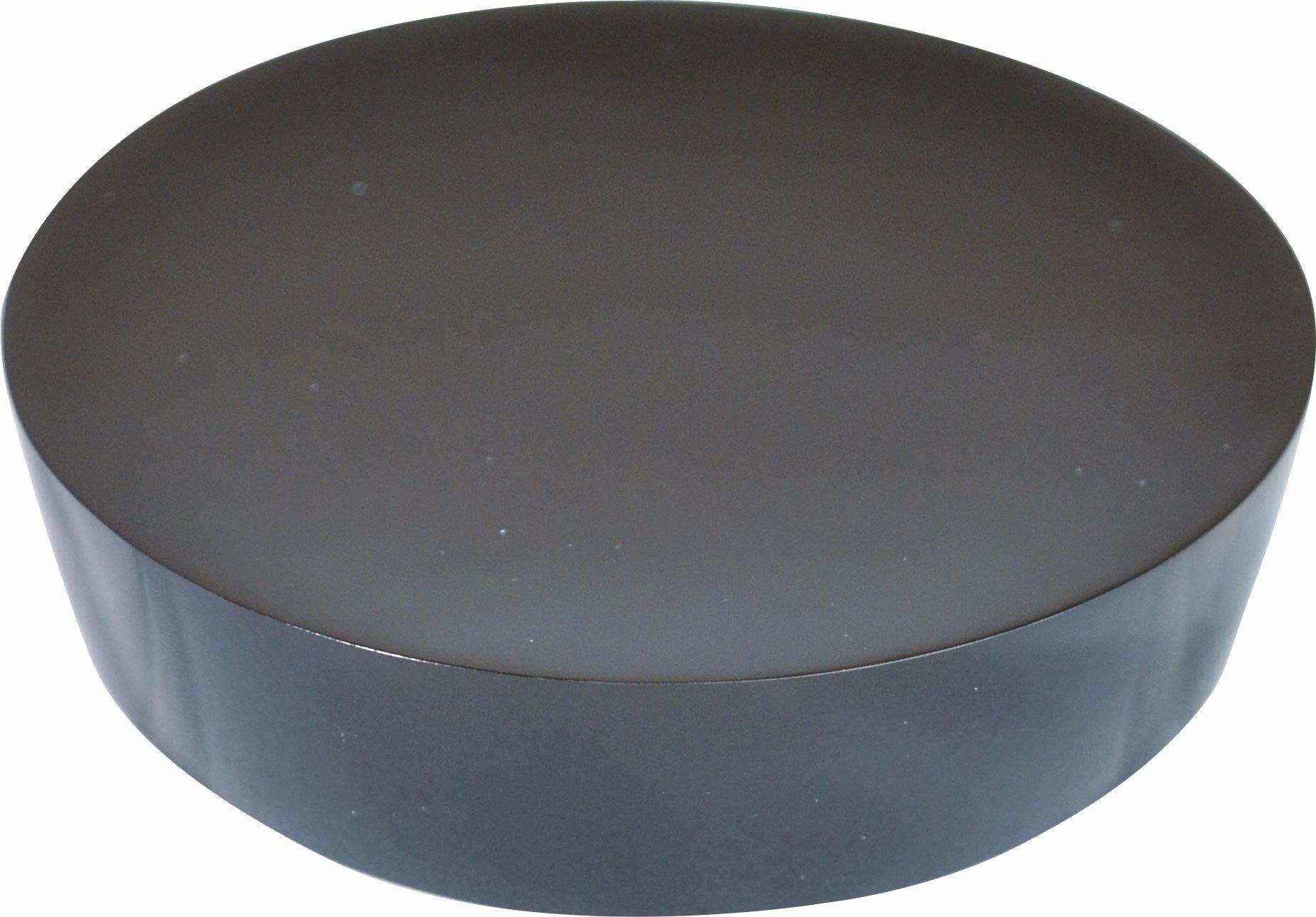 Grund PICCOLO mydelniczka 10,4 x 10,4 x 2,5 cm czarna akcesoria, 100% żywica poliestrowa, 4 x 10,4 x 2,5 cm