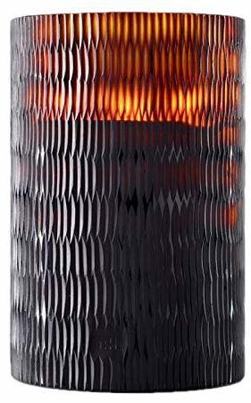 Onno RHOMBUS świeca zapachowa, szkło, brązowa, XL