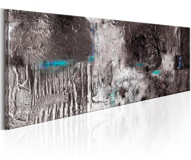 Obraz malowany - srebrna machina