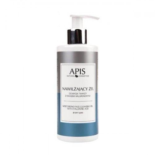 APIS Nawilżający żel do mycia twarzy z kwasem hialuronowym 300ml