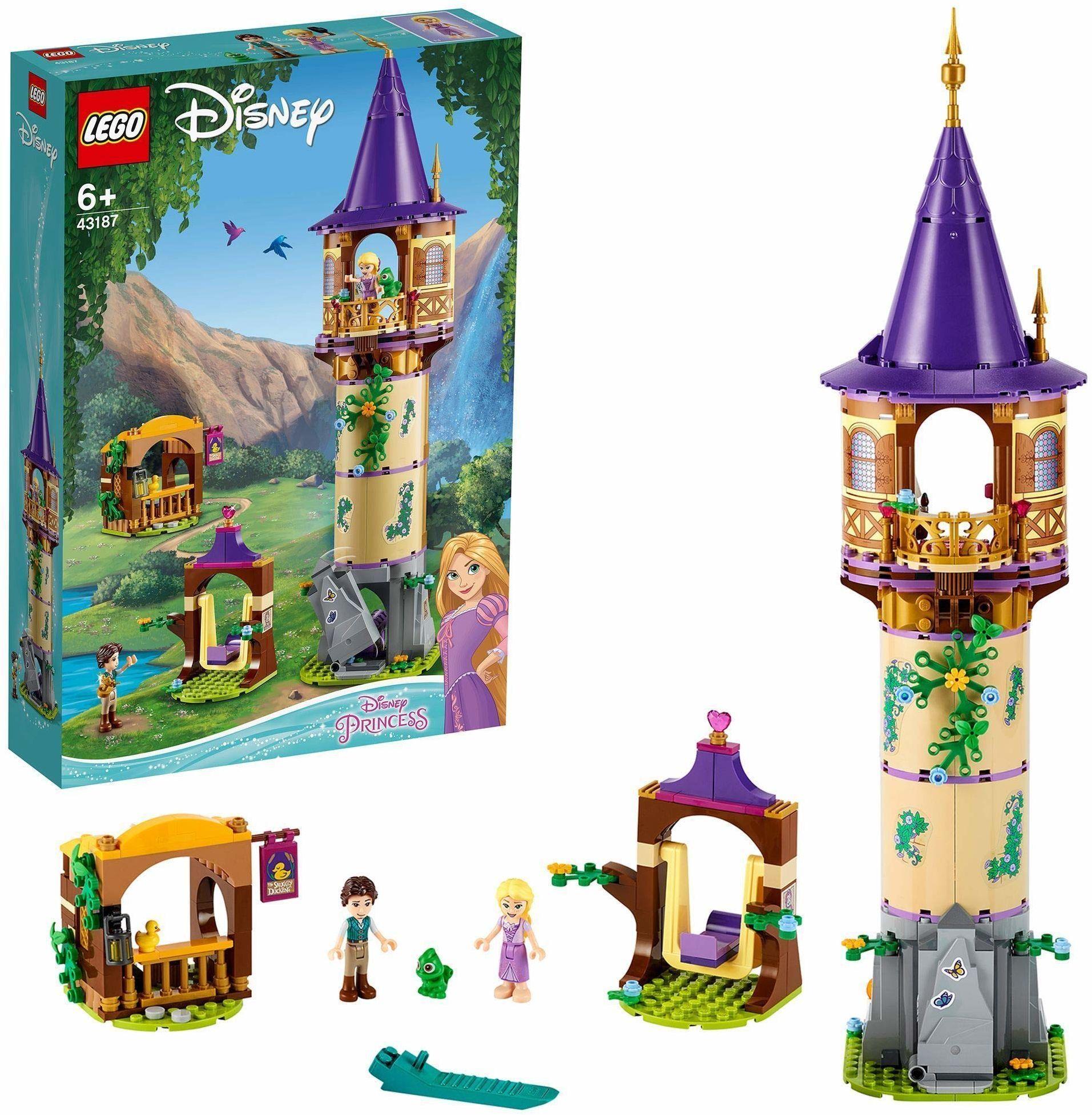 LEGO  Disney 43187 Wieża Roszpunki (369 elementów)