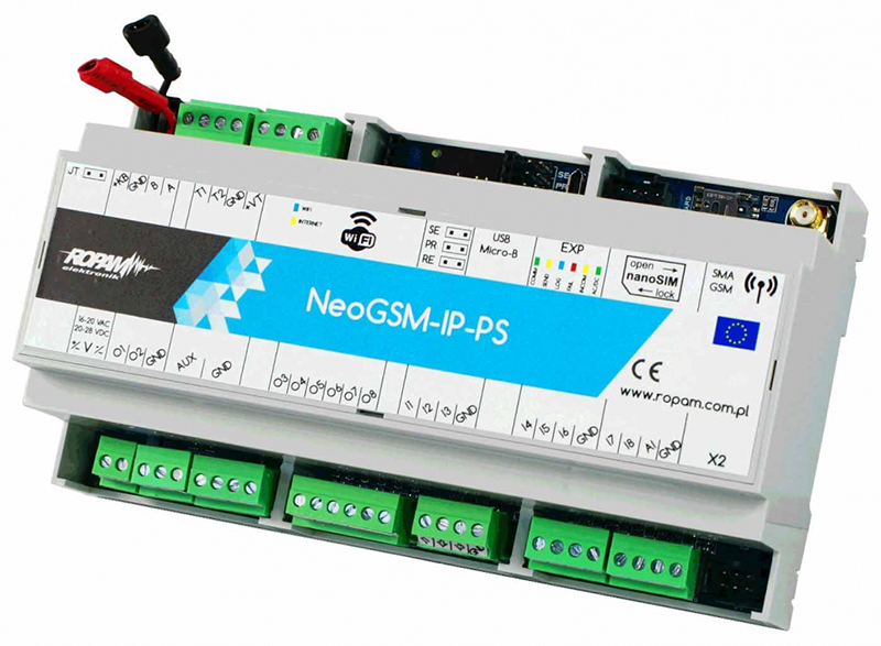 Centrala alarmowa Ropam NeoGSM-IP-PS-D9M