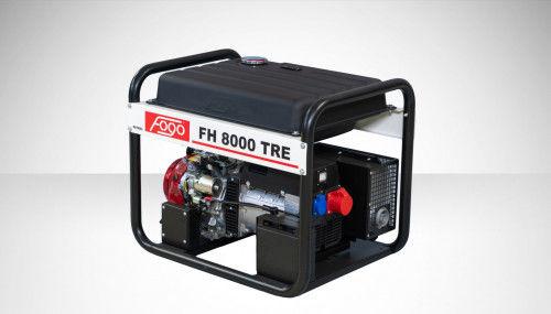 Fogo FH 8000 TRE Agregat prądotwórczy trójfazowy 400V/230V - AVR automatyczny regulator napięcia, powiększony zbiornik paliwa, elektryczny rozrusznik