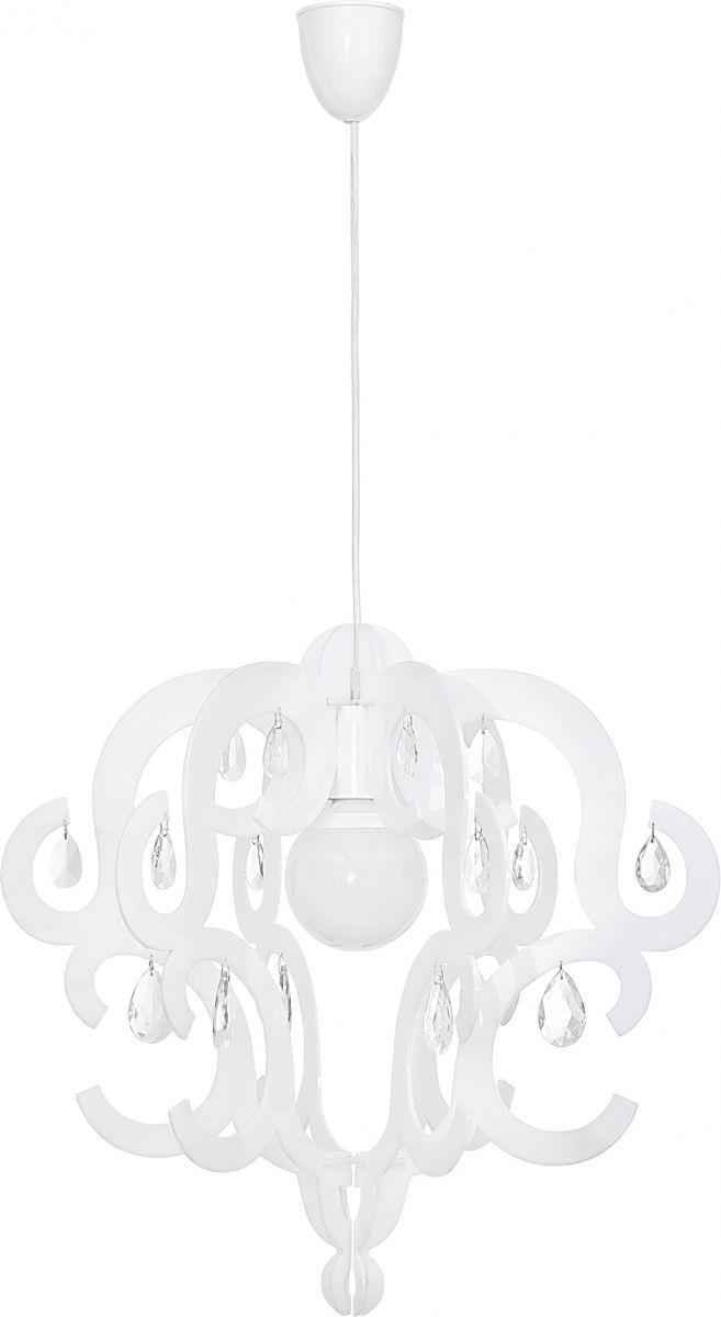Lampa wisząca Katerina 5208 Nowodvorski Lighting biała oprawa w dekoracyjnym stylu