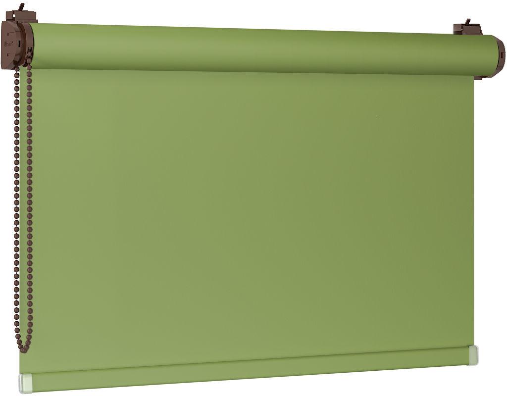 Roleta 100% zaciemnienia BLACKOUT Bezinwazyjna - Green / Brązowy