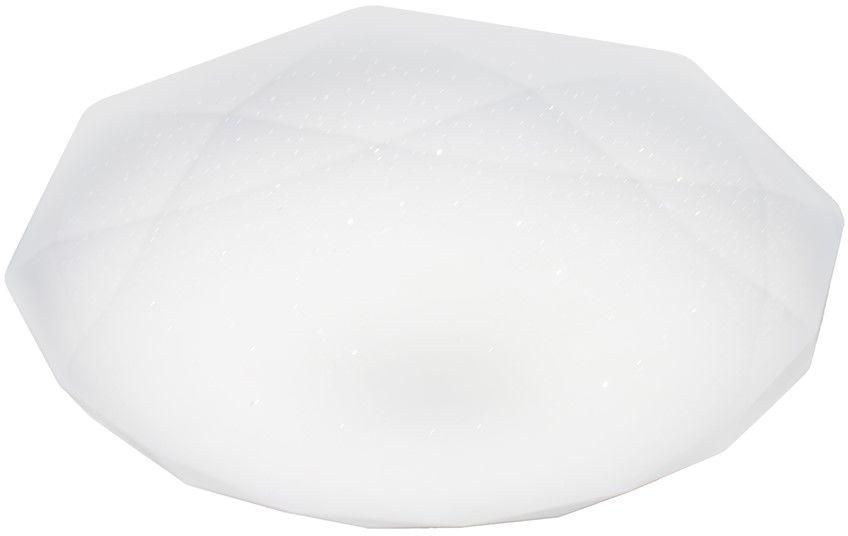 Hex plafon LED 1 punktowy biały EK76189 - Milagro // Rabaty w koszyku i darmowa dostawa od 299zł !