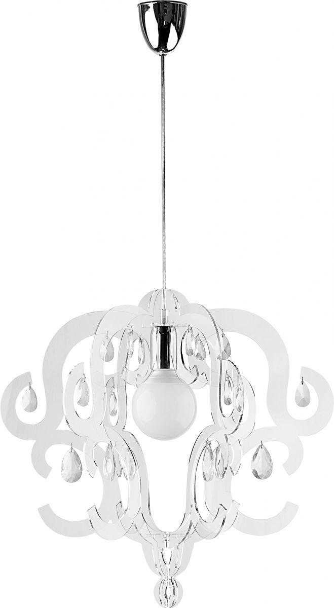 Lampa wisząca Katerina 5210 Nowodvorski Lighting transparentna oprawa w dekoracyjnym stylu