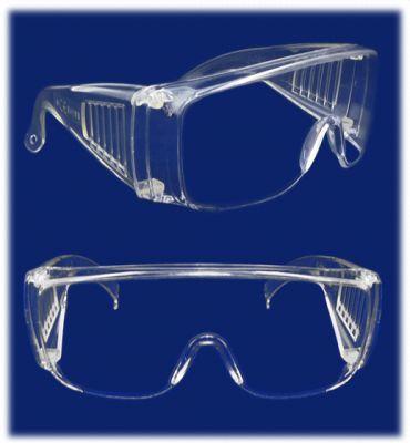 Okulary ochronne przeźroczyste