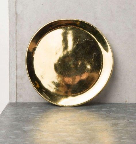 UNC złoty talerz