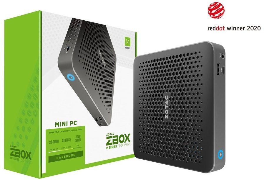 ZOTAC Mini PC ZBOX MI623 EDGE i3-10110U 2DDR4/SODIMM HDMI/DP