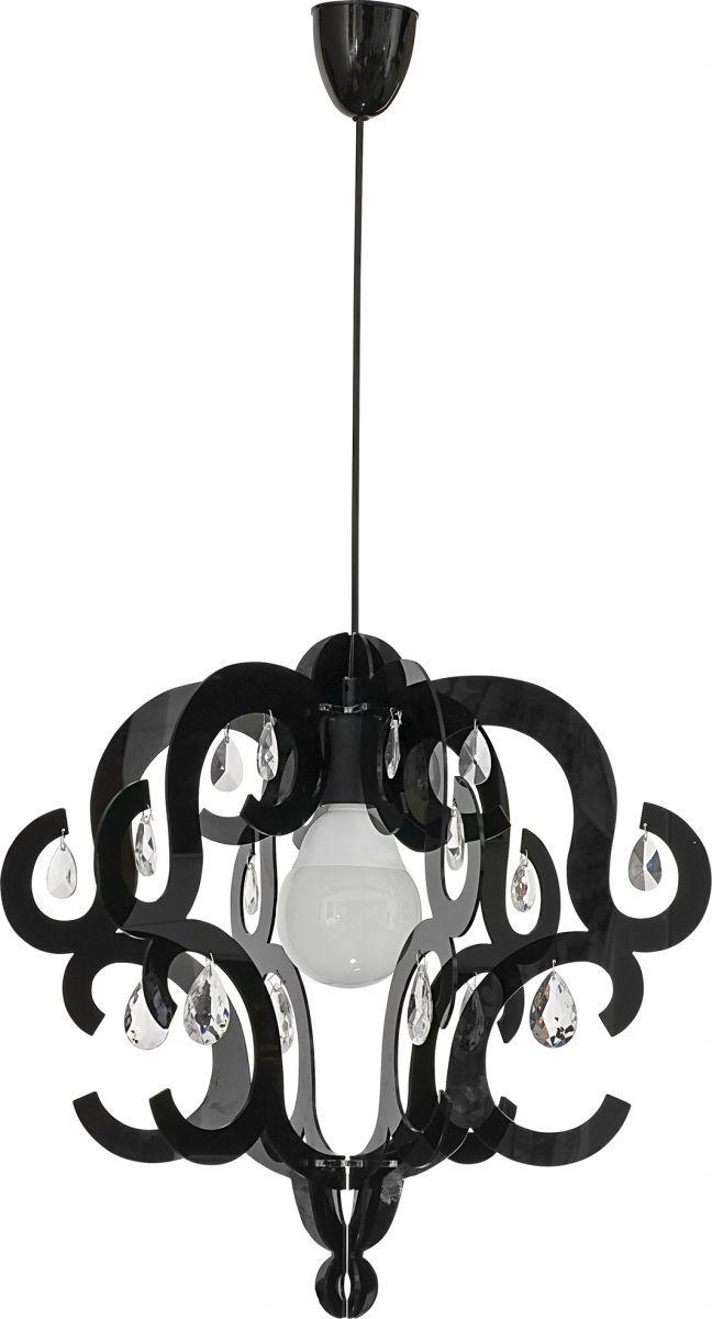 Lampa wisząca Katerina 5211 Nowodvorski Lighting czarna oprawa w dekoracyjnym stylu