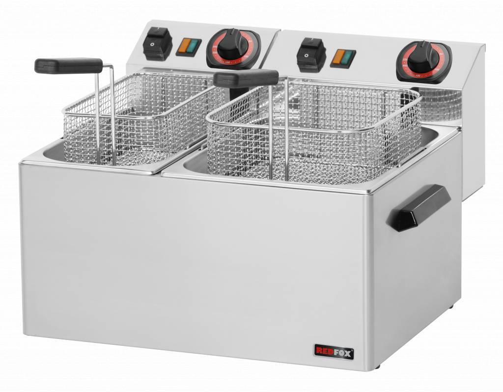 Frytownica elektryczna 8 + 5L 5100W 450x420x(H)300mm
