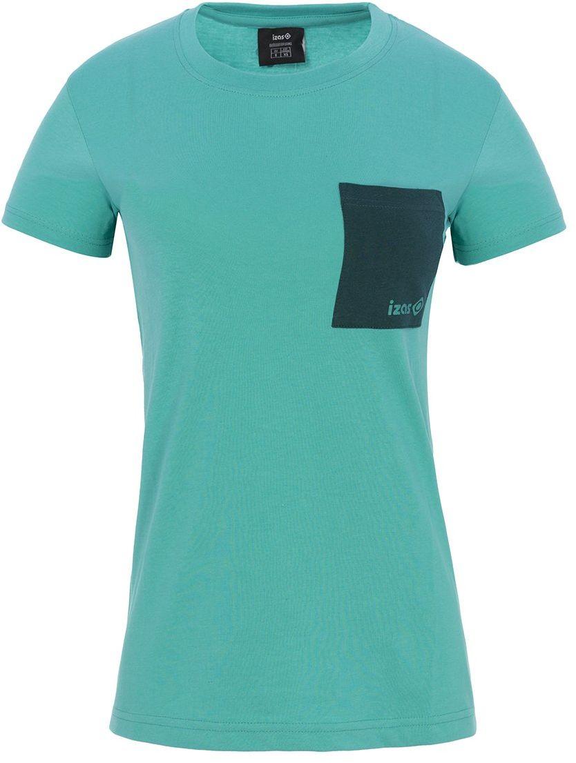 Isa''S Męska koszulka z krótkim rękawem Dakota Outdoor Ceramic/Dark Aqua L