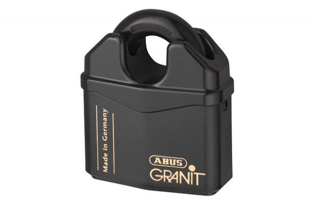 Kłódka antywłamaniowa Abus Granit 37RK/80 z krytym pałąkiem, 2 klucze