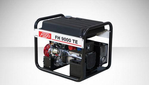 Fogo FH 9000 TE Agregat prądotwórczy trójfazowy 400V/230V - elektryczny rozrusznik, powiększony zbiornik paliwa