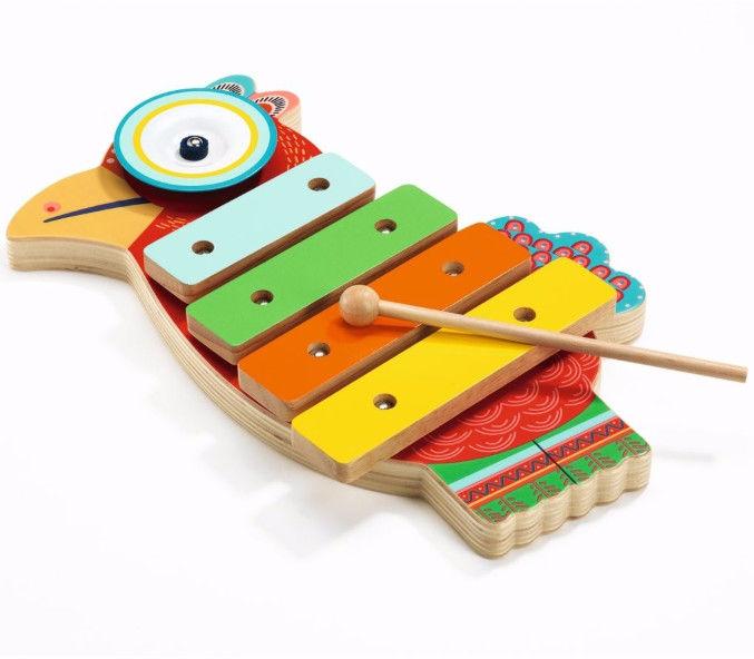Djeco - Cymbałki Papuga