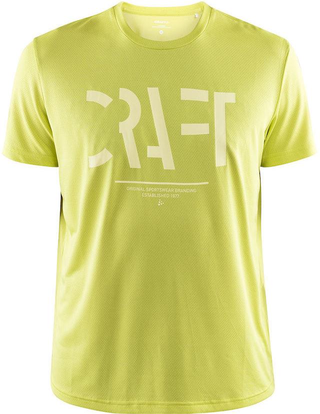 CRAFT EAZE MESH męska koszulka sportowa / do biegania zielony 1907018-611000 Rozmiar: XL,1907018-611000