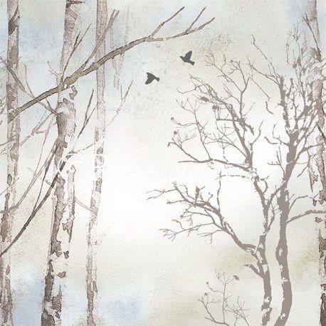 SERWETKI PAPIEROWE Zimowe Drzewa WINTER DREAMS